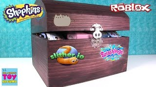 Simons Blind Bag Treasure Chest #41 Opening Slither.io Disney Roblox Shopkins | PSToyReviews