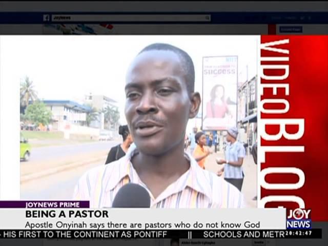 Being A Pastor - Joy News Interactive (25-11-15)