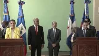 Video - Michel Martelly and Danilo Medina meeting in Barahona
