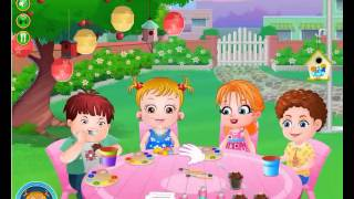 New Baby Hazel Garden Party Funny Game KIDS HD