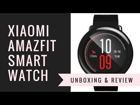 Xiaomi Amazfit Pace Smartwatch - Unboxing & Review