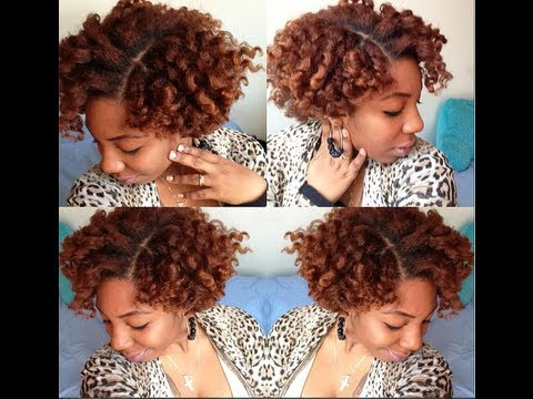 Twist Out Styles on Short Natural Hair Natural Hair | Flat Twist Out