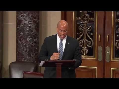 Senator Booker on Israel