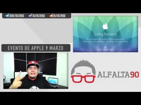 Apple anuncia evento este 9 de Marzo.. Apple Watch?
