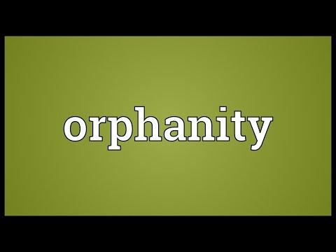 Header of Orphanity
