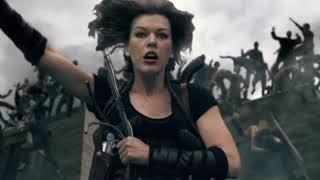 Resident Evil 4  La Resurrección 2010  / Action Scene
