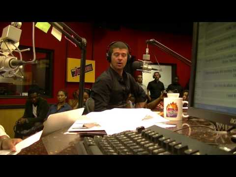 Robin Thicke (@RobinThicke) talks about Paula, relationships and more on the #TJMS.