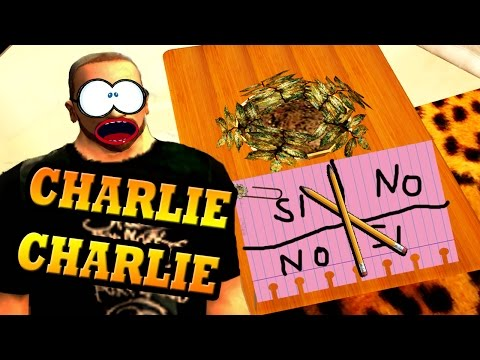 GTA San Andreas Loquendo - CJ juega Charlie Charlie (Video Comedia)