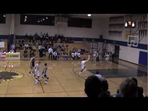Game Winning Shot by Stephen Fisher of Rincon Valley Christian School - March 3, 2011