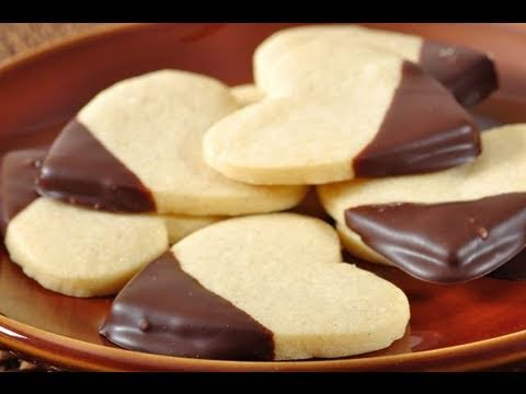 Shortbread Cookies Recipe Demonstration - Joyofbaking.com