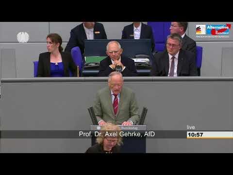 Dieses Gesundheitssystem hat fertig - Prof. Axel Gehrke - AfD-Fraktion im Bundestag