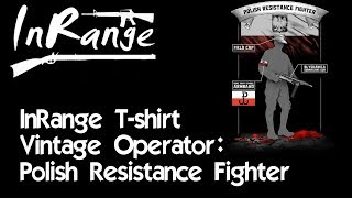 Vintage Operator: Polish Resistance Fighter T-Shirt