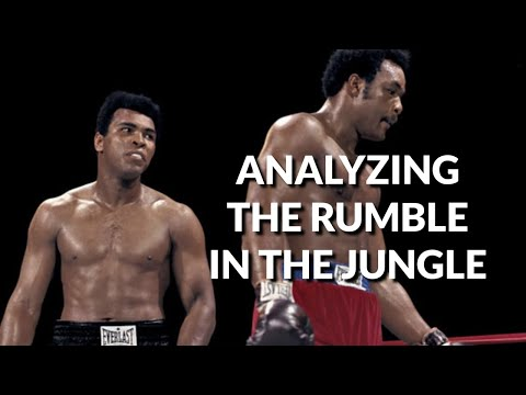 """Analyzing """"The Rumble in the Jungle""""."""