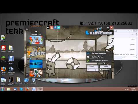 Cracked Tekkit Client | How To Install + Download