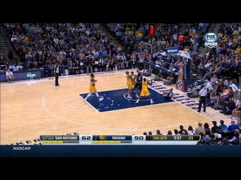 Kawhi Leonard Full Highlights Spurs vs Pacers (3/31/2014) 13 Pts, 11 Reb, 2 Ast - Project Spurs