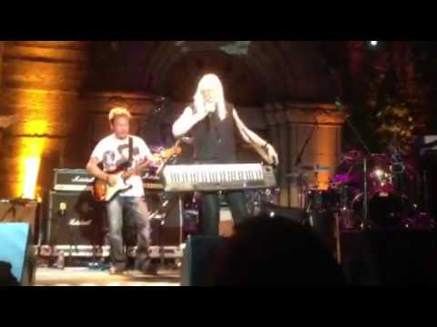 Edgar Winter with Rick Derringer at the Mountain Winery Aug