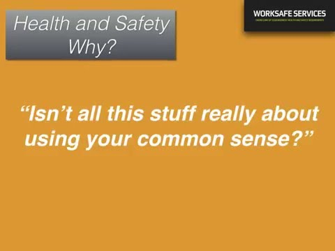WS Health and Safety New Zealand -  Why Do It