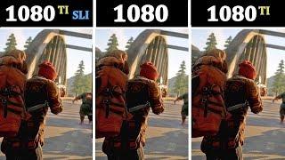 GTX 1080 vs 1080TI vs 1080TI SLI | Tested 15 Games |