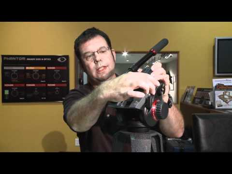 At the Bench with Manfrotto's 504HD Fluid Head