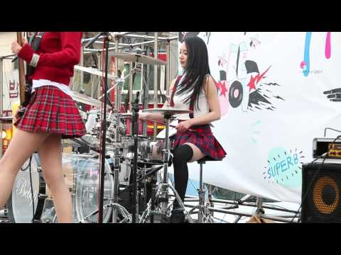 20140405 Bebop 비밥 홍대 버스킹 (11) 예쁜남자 아연