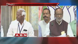War of Words between TRS Kadiyam Srihari and BJP Laxman