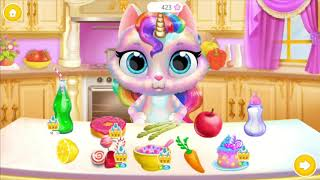 New Born Baby Kitten Kids Games - Twinkle Unicorn Cat Princess - Fun Care Game For Kids