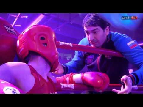 Мугидинов Абдулмалик (Москва) vs. Абдуллаев Акбар | Мастерская тайского бокса