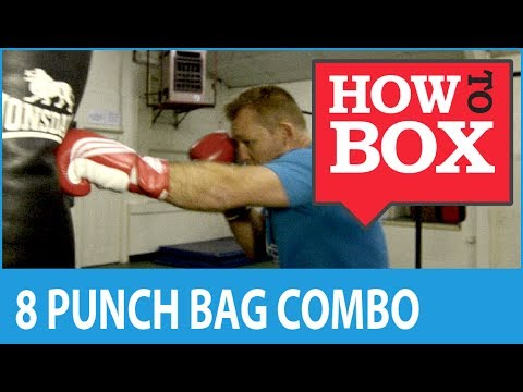 8 Punch Combination for Heavy Bag Boxing Workout Image 1