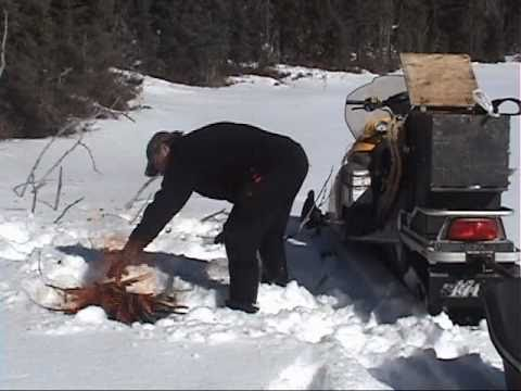 Nipigon River Bear Hunts Winter Adventure