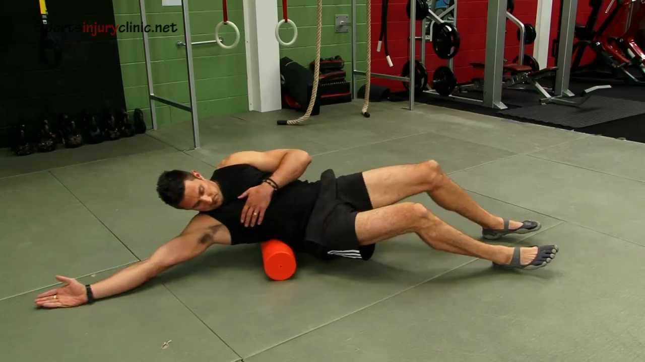QL muscle - lower back...