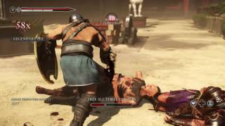 ryse son of rome gladiator fight xbox one/ps4/pc