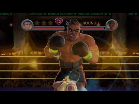 Punch Out!! Wii - Title Defense: Little Mac vs. Super Macho Man, and Mr. Sandman