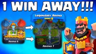 (27.1 MB) ★1 WIN★ to LEGENDS ARENA 7 :: THEN THIS HAPPENS! [Clash Royale] Mp3
