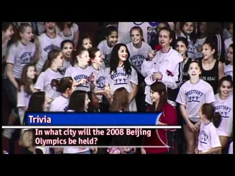 John Macready finds Aly Raisman in the crowd - 2008 Visa Championships