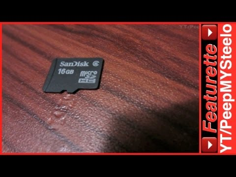 Sandisk Micro SD Card SDHC Flash Memory For Storage of Media Files on Cell & Smart Phones