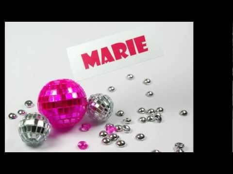 Ide Cration Marque Place Original - DIY Place holder with Mini Disco Ball