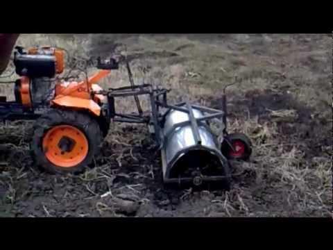 Самодельный трактор (первый опыт)