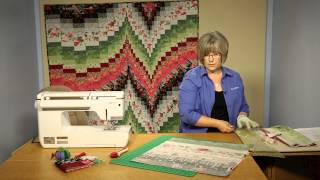 Quilting Quickly: Fire & Ice Bargello Quilt Pattern