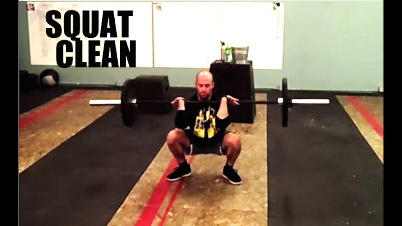 Squat Clean Technique Squat Clean Technique