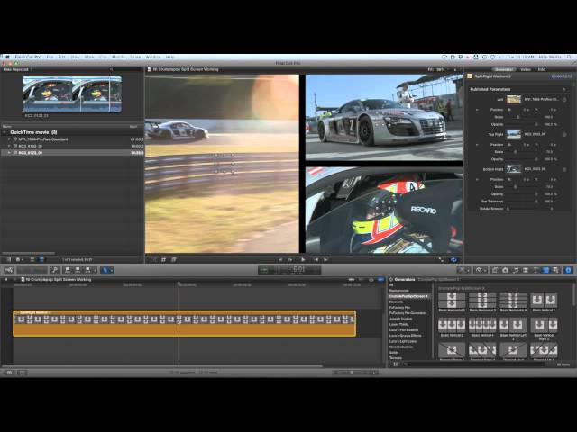 Splitscreen Effects for Final Cut Pro X