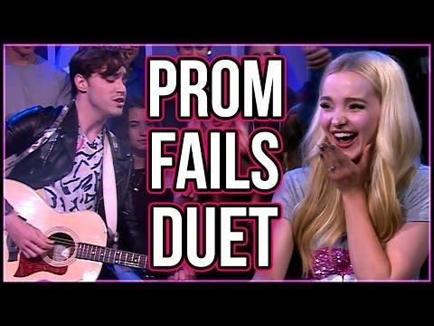 Dove Cameron Sings Prom Fail Tweets w/ Ryan McCartan