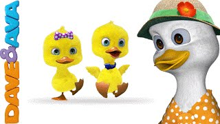 Five Little Ducks | THE BEST Nursery Rhymes and Songs for Children from Dave and Ava