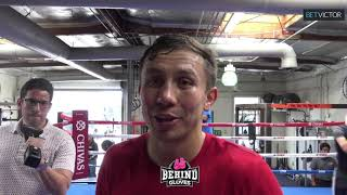 GENNADY GOLOVKIN GIVES HIS THOUGHTS ON ANTHONY JOSHUA FIGHTING ANDY RUIZ