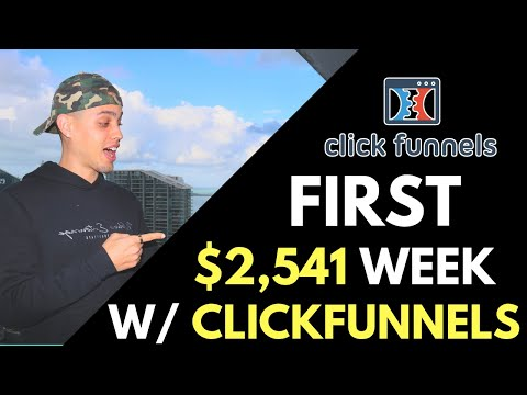 ClickFunnels Review - How I Made $2,541 In One Week With ClickFunnels