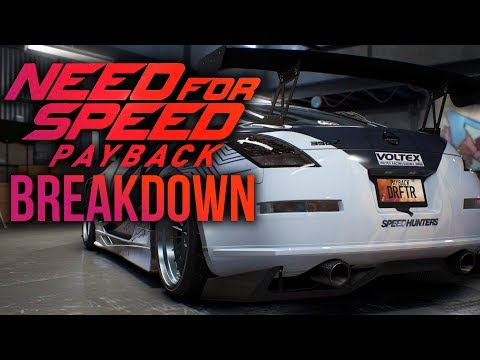 NEED FOR SPEED PAYBACK TRAILER BREAKDOWN - Story, Customization, Cars, Characters & More