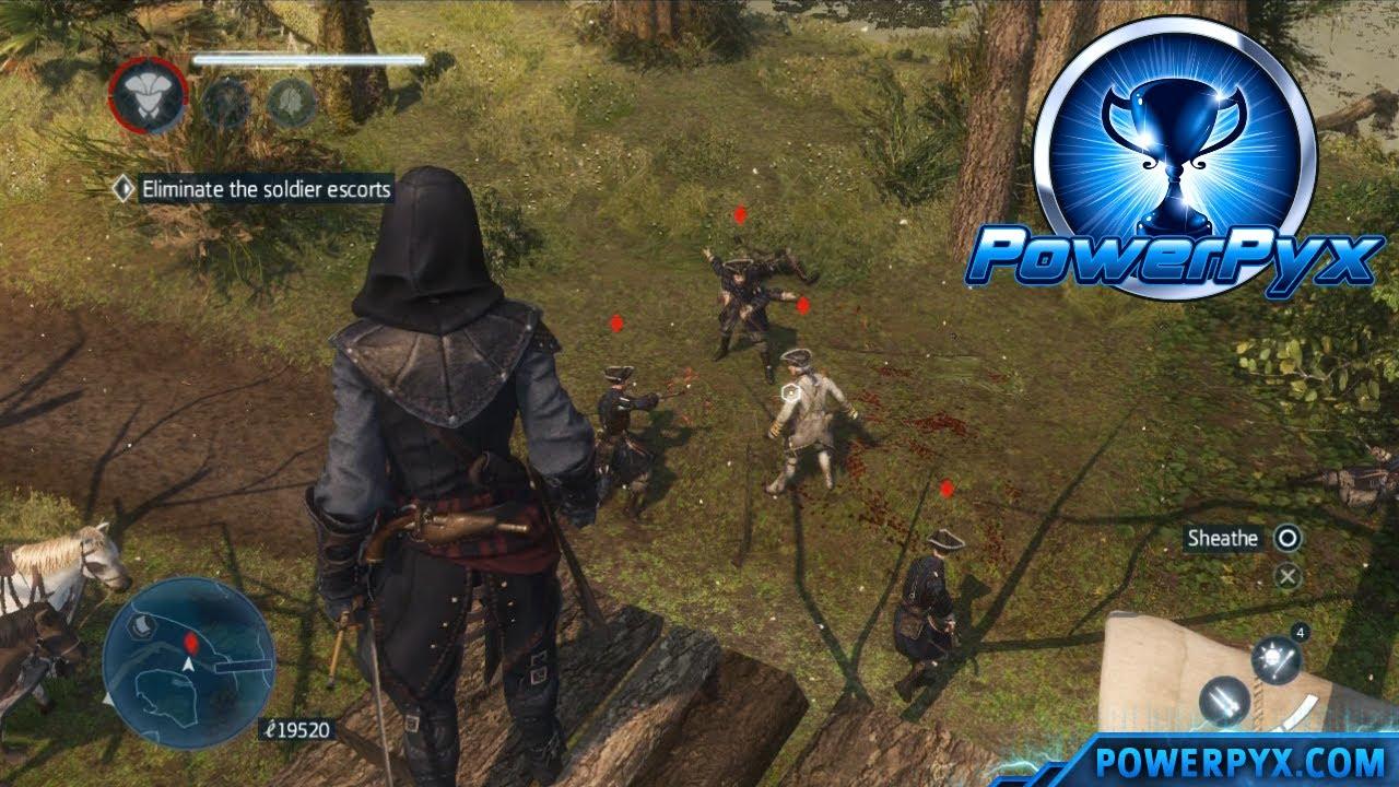 Assassin's Creed Liberation HD Alligator Eggs Locations Guide