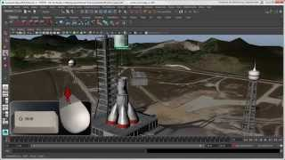 Softimage to Maya Bridge: Basic Transformations in Maya