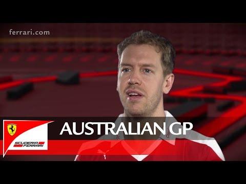 The Australian GP with Sebastian Vettel - Scuderia Ferrari 2016