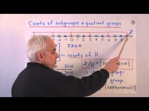 AlgTopReview3: More on commutative groups---isomorphisms, homomorphisms, cosets and quotient groups