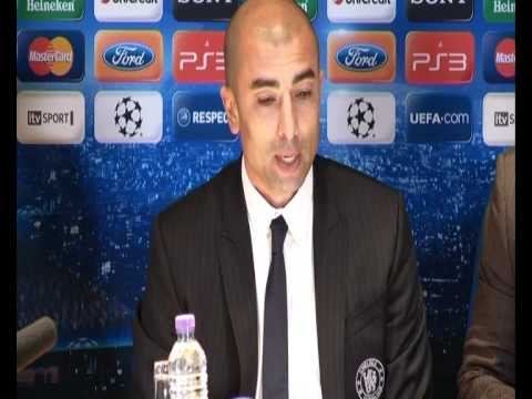Chelsea 2-1 Benfica (agg 3-1) Press Conference